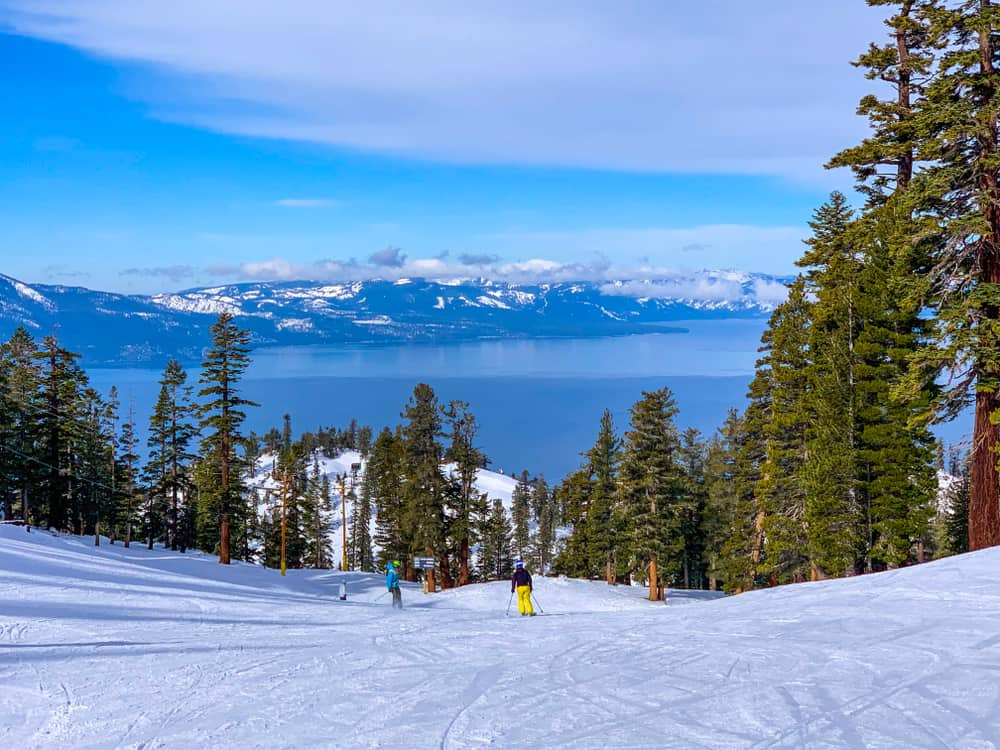 Heavenly Ski Resort - best USA destinations