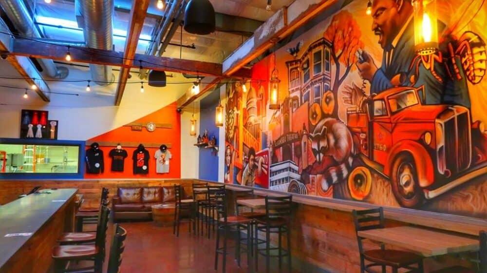 Hip cafe in Sacramento
