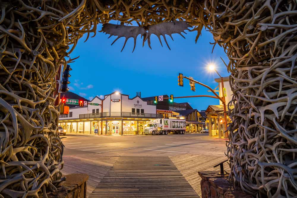 Jackson Hole - great places to visit in December