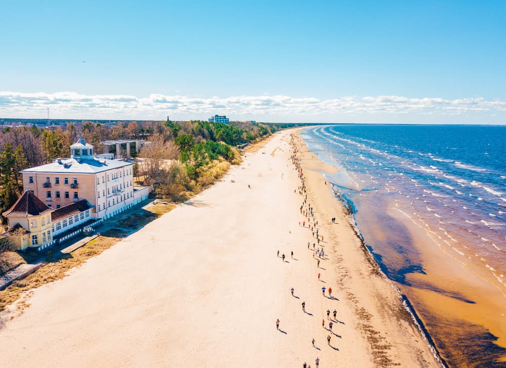 Jurmala Beach Latvia