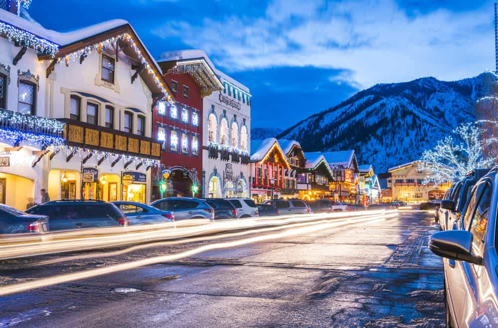Leavenworth in the winter