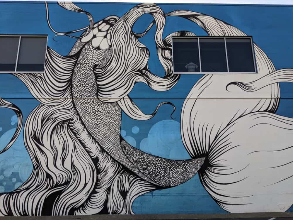 Mural in Midtown Sacramento