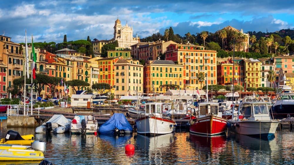 Rapallo - quiet resorts in Italy