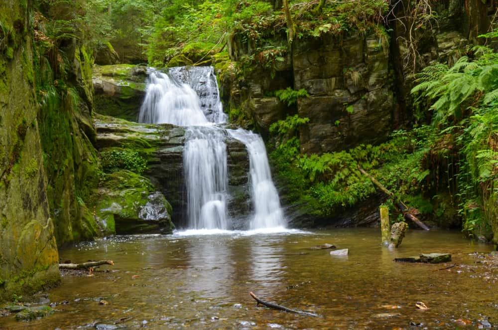 Rešov Waterfalls Czech Republic