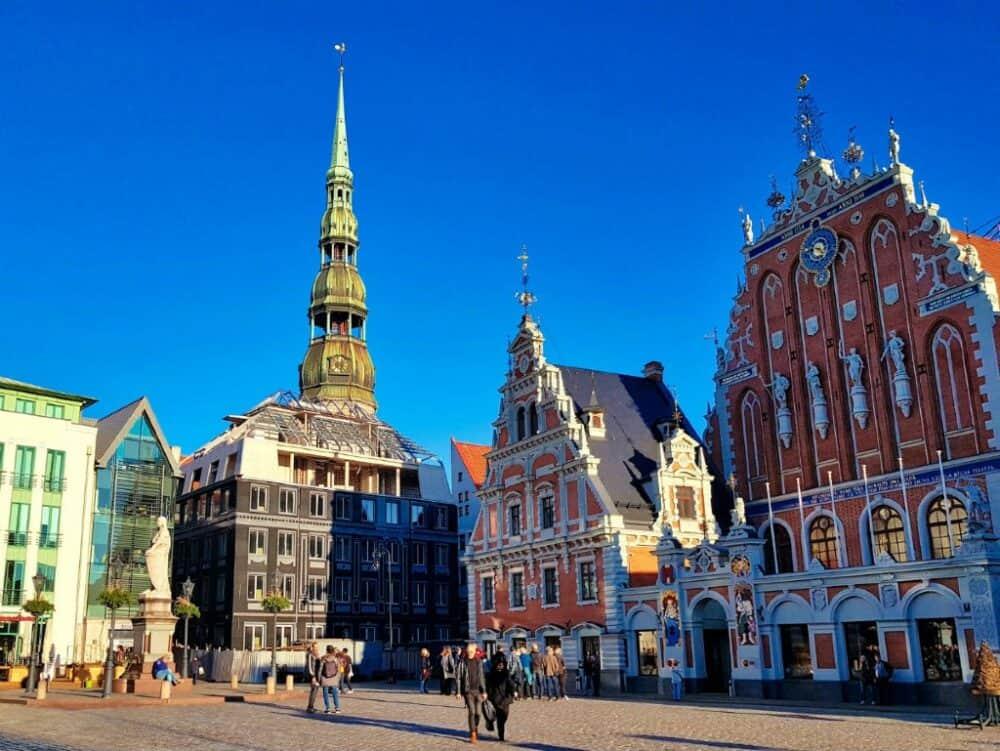 Riga Old Town Latvia