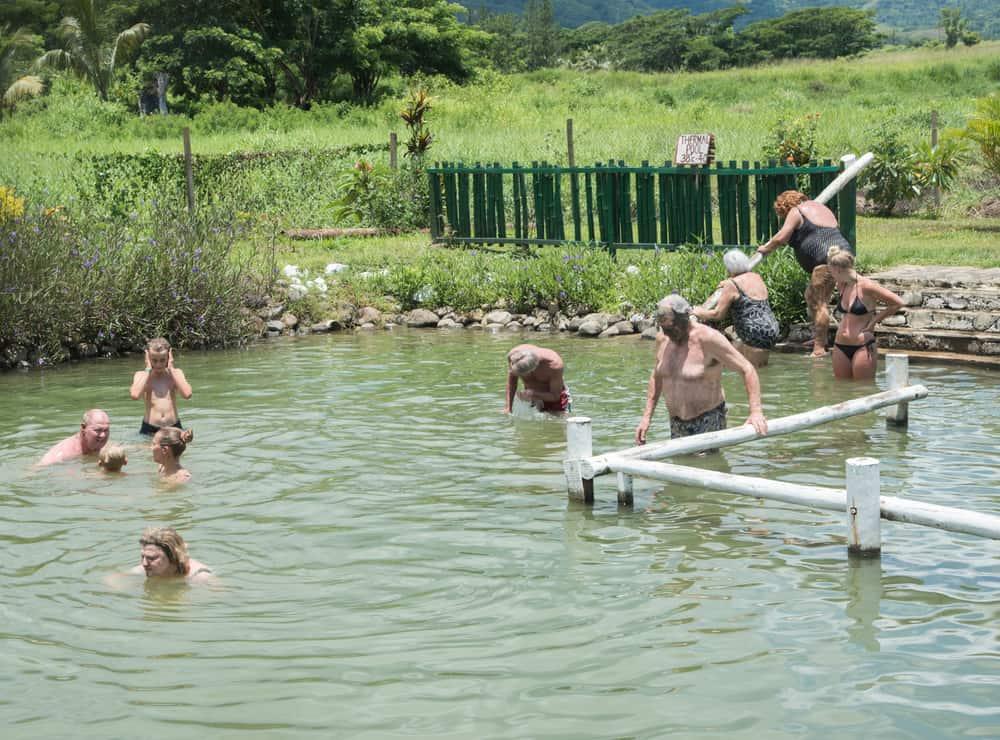 Sabeto Hot Springs Fiji