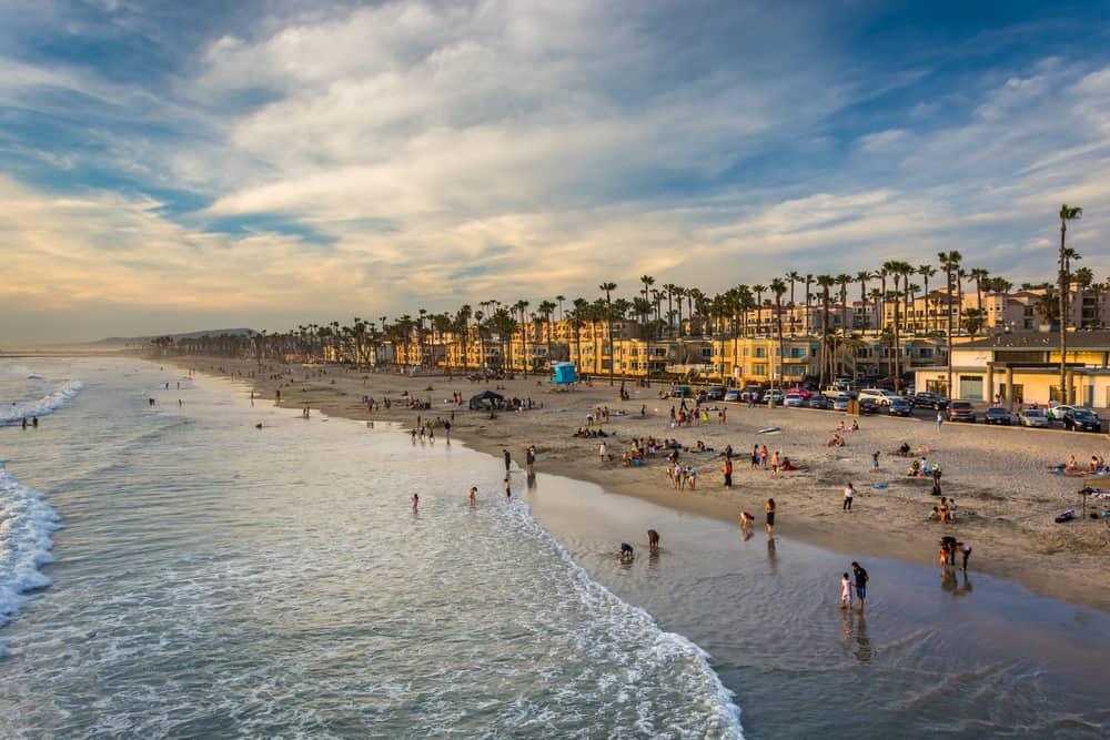 San Diego Beach spring