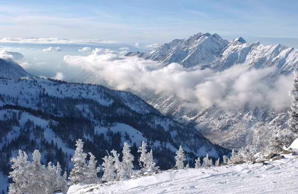 Snowbird, Utah in January