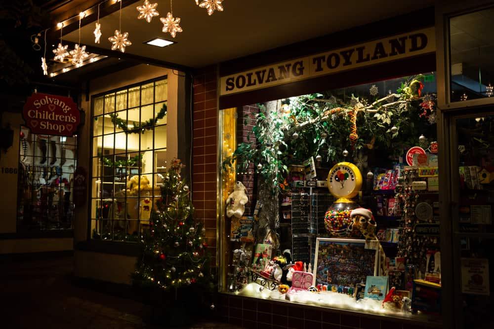 Solvang at Christmas