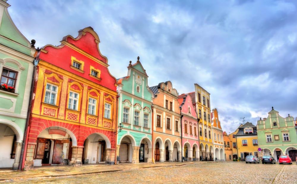 Telč - beautiful town in Czech Republic