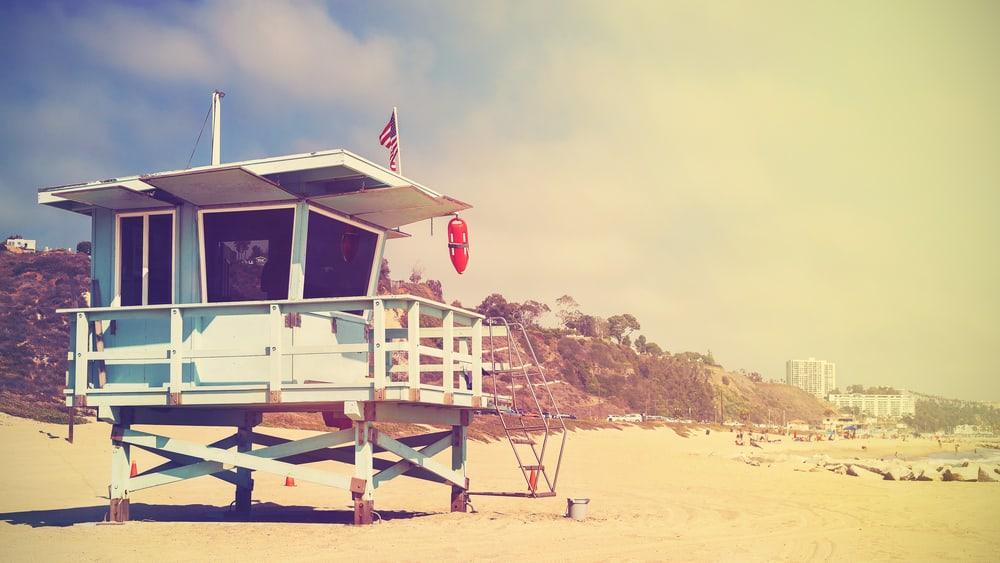 Baywatch Beach Santa Monica