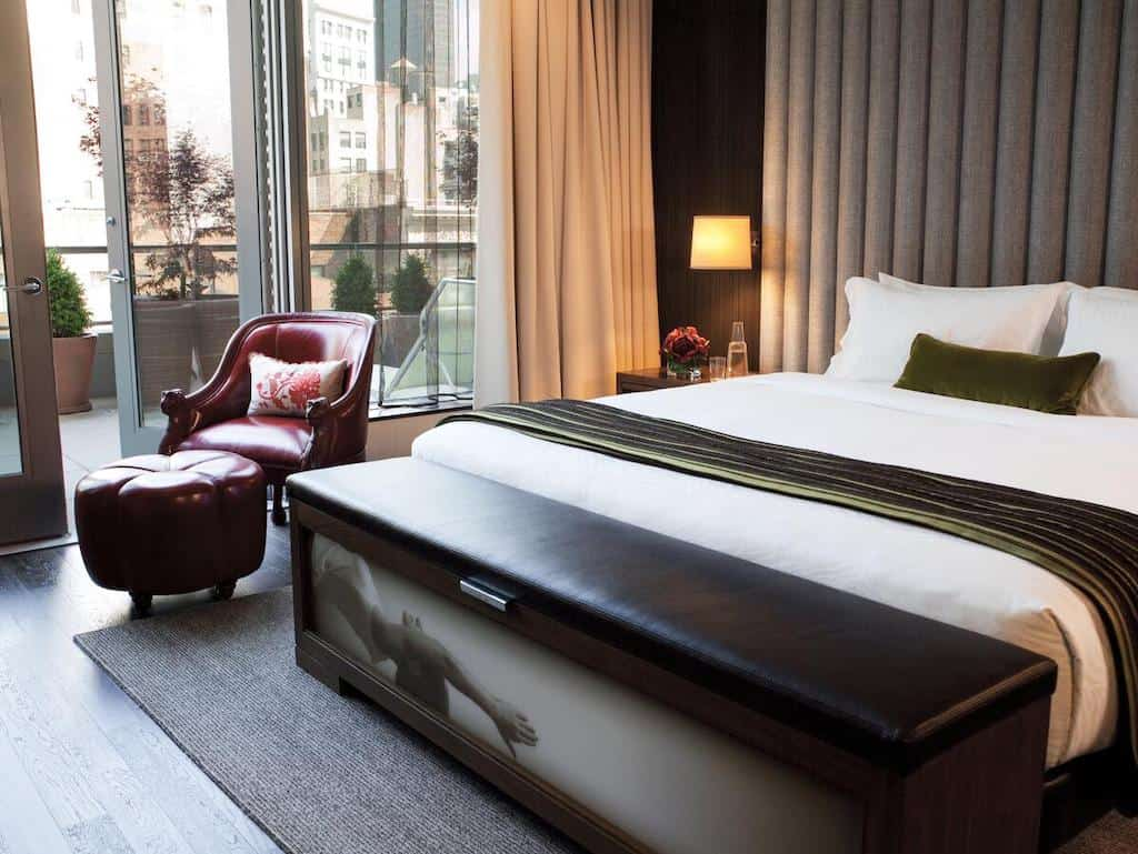 Beautiful hotel in New York
