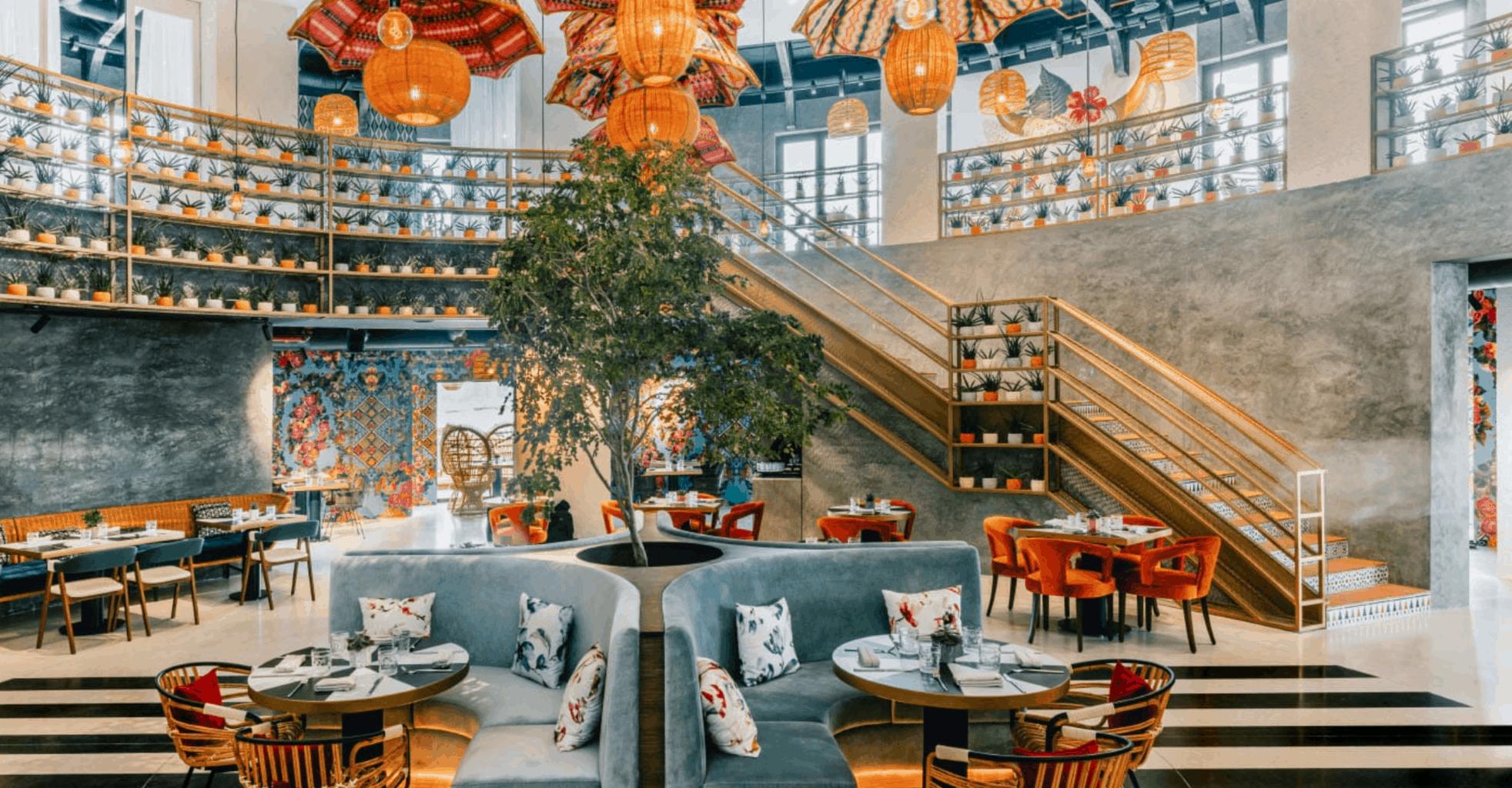 Boutique Restaurant Boho Social Doha