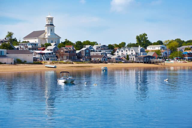 Cape Cod in the summer