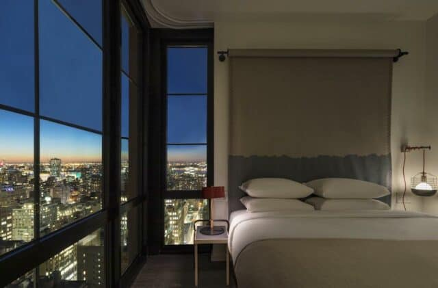 Chic and sleek suite NYC