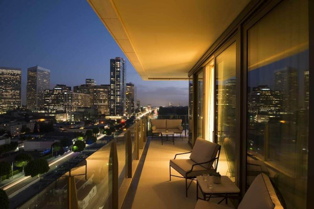 Chic hotel in Los Angeles