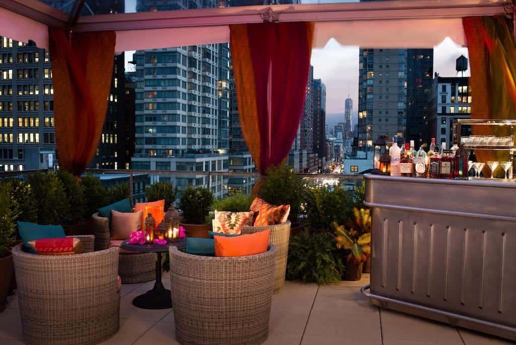 Chic hotel in New York