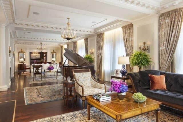 Classically romantic hotel in New York