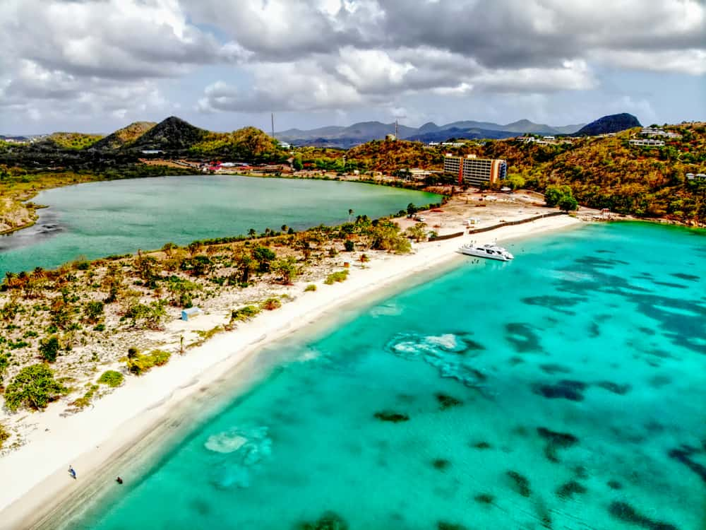 Deep Bay Beach Antigua