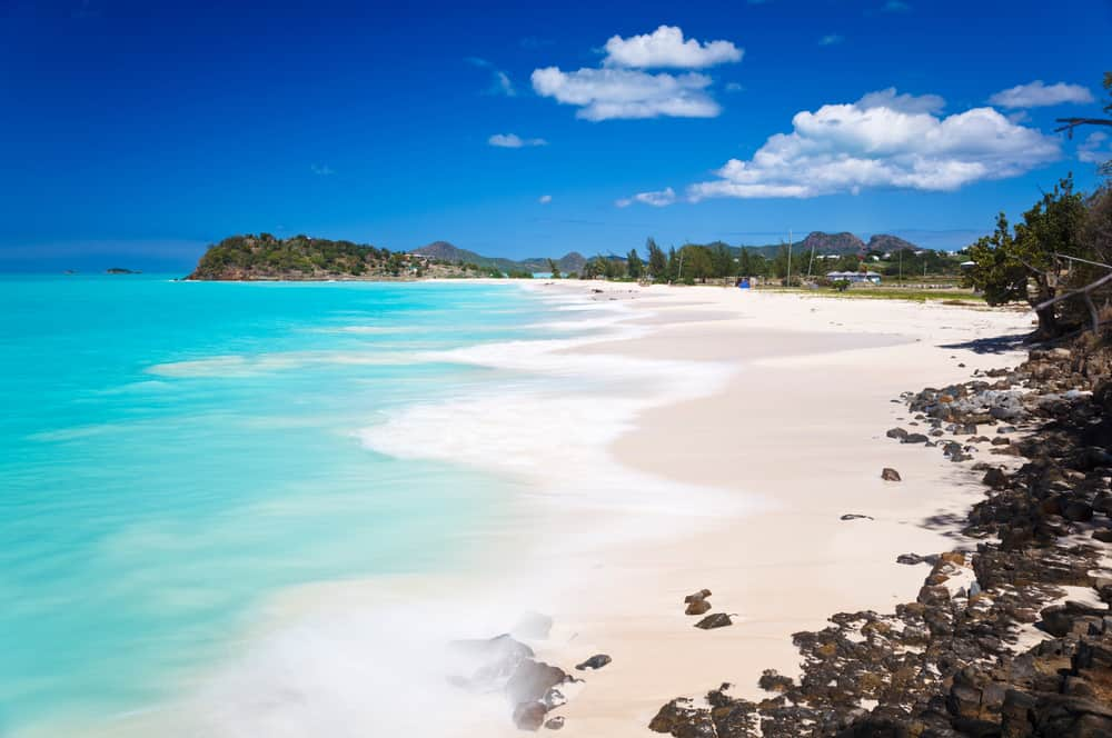 Ffryes Beach - best places in Antigua