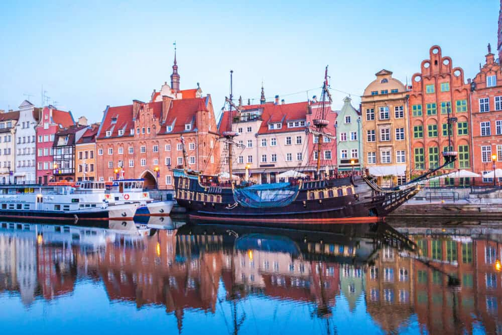 Gdansk - prettiest cities in Poland