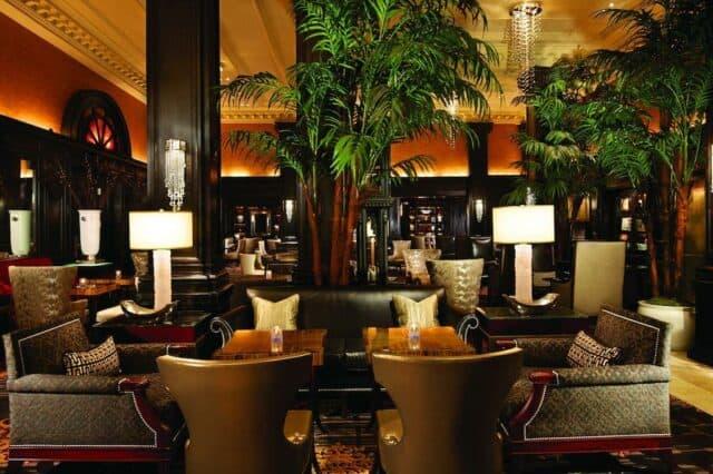 Glamorous hotel in New York