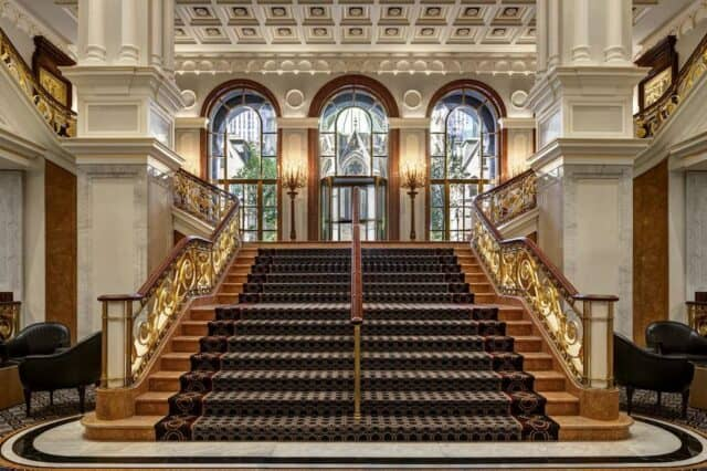 Grand romantic hotel in NYC