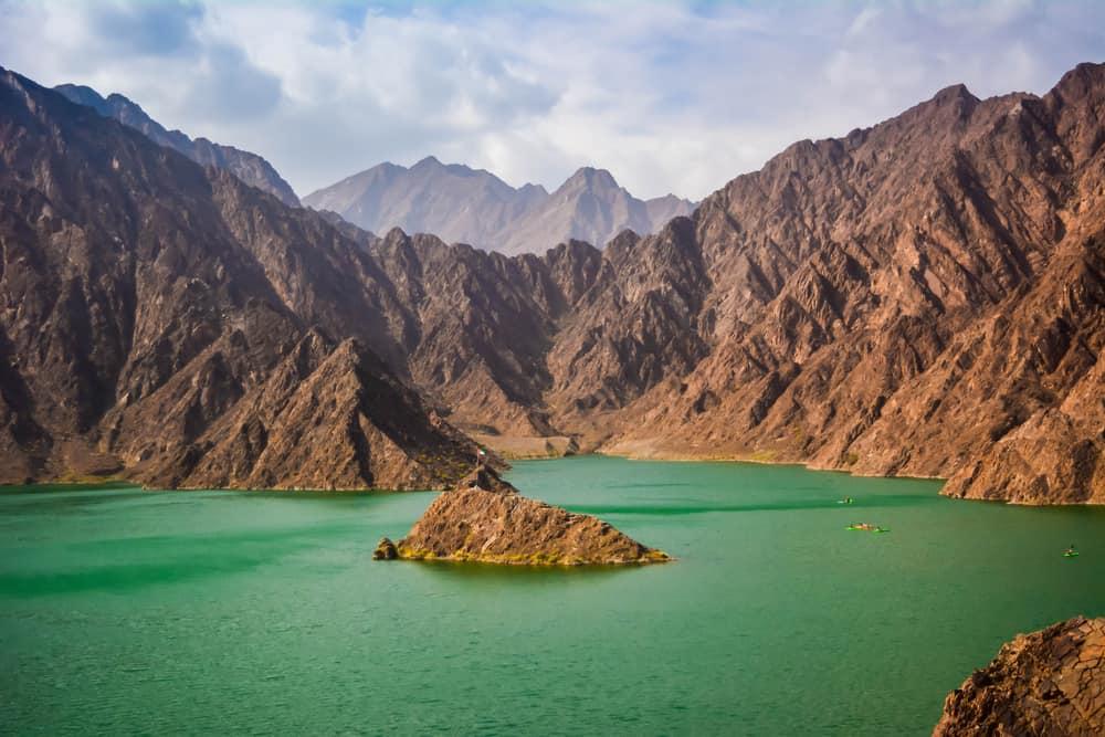 Hatta Water Dam Dubai