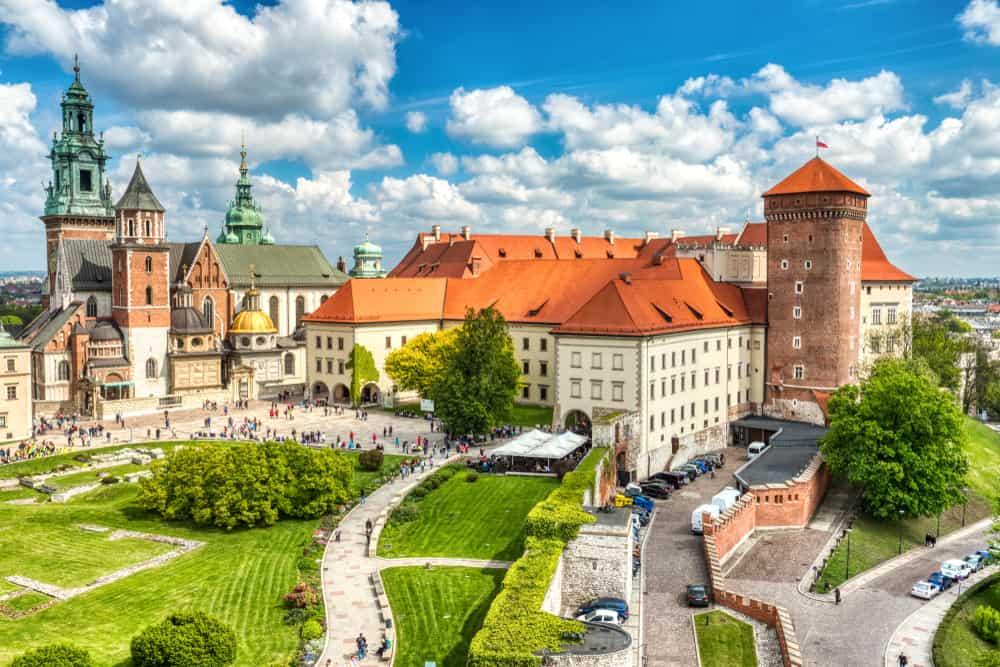Krakow City in Poland