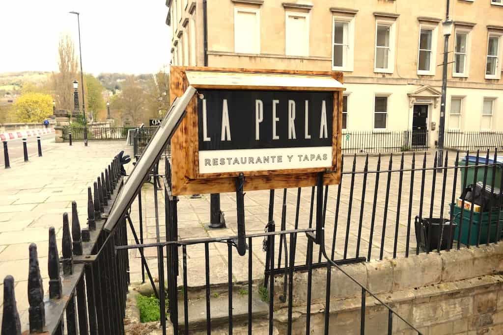 La Perla Restaurant Bath