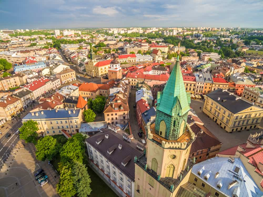 Lublin Old Town Poland