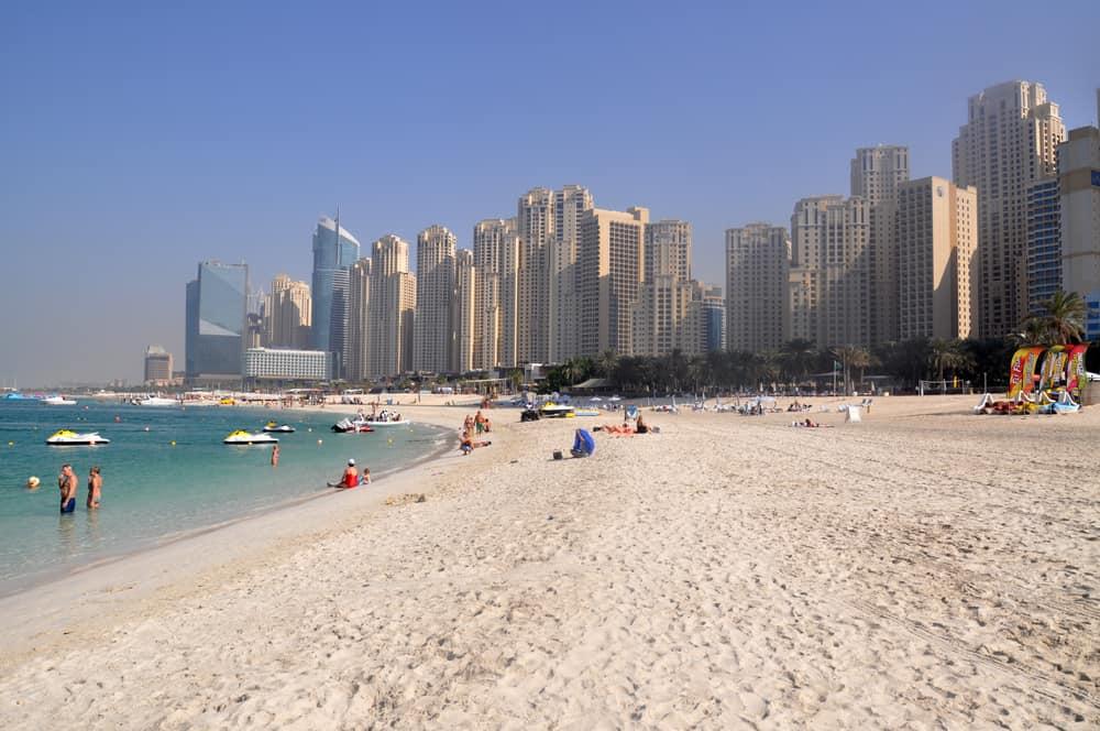 Marina Beach Dubai