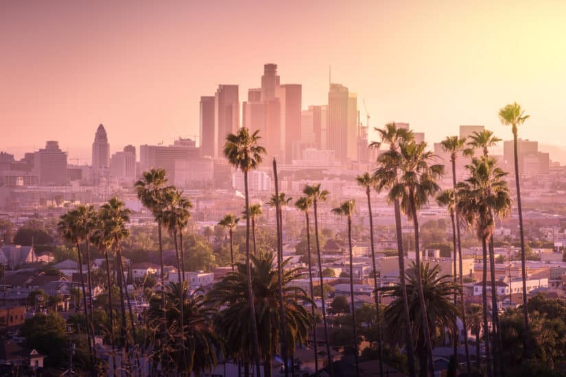 Most romantic hotels in Los Angeles