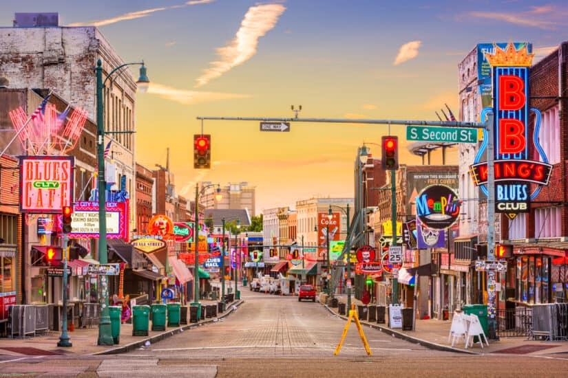 Top 10 most romantic hotels in Memphis