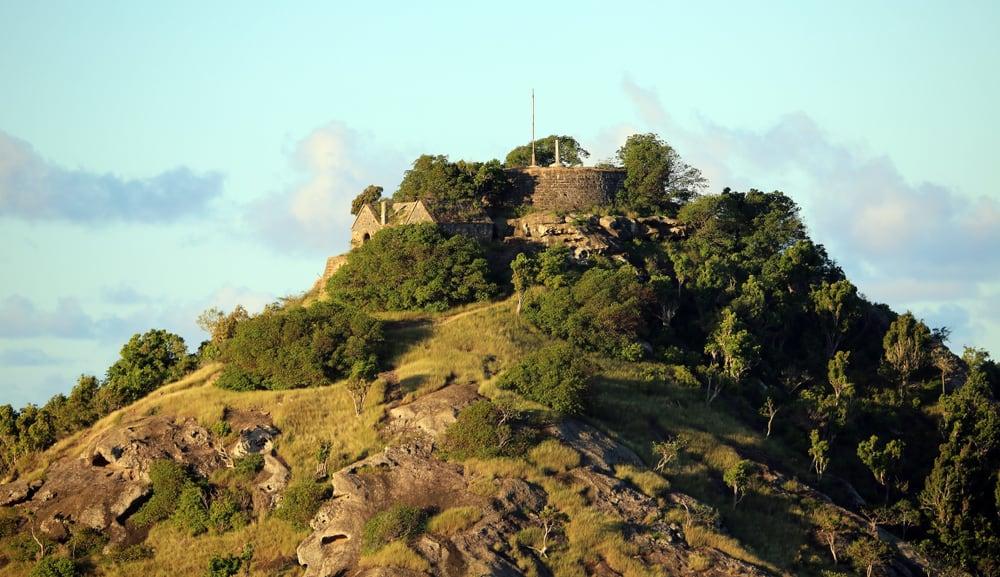 Old Fort Barrington Antigua