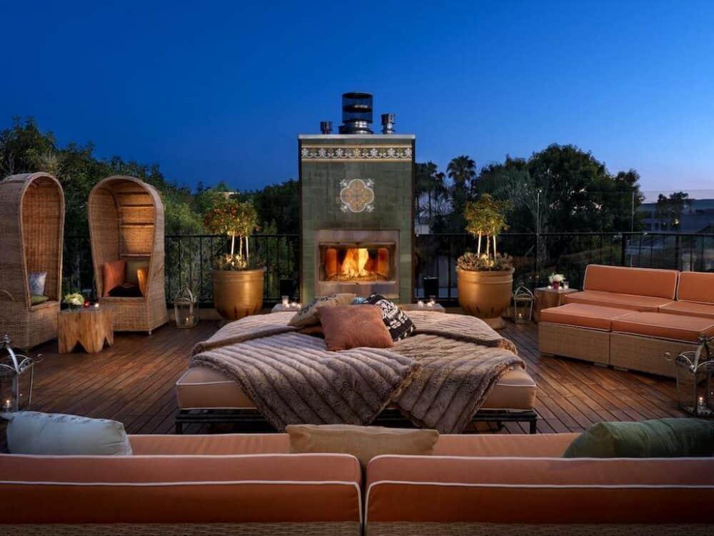 Romantic hotels in California