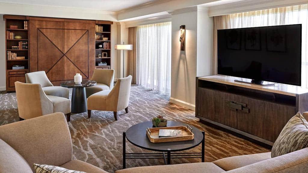 Romantic resort hotel in San Antonio