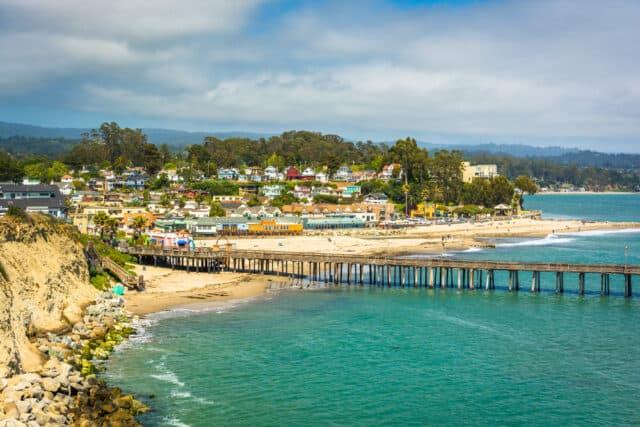 Santa Cruz California - great places to visit in June USA