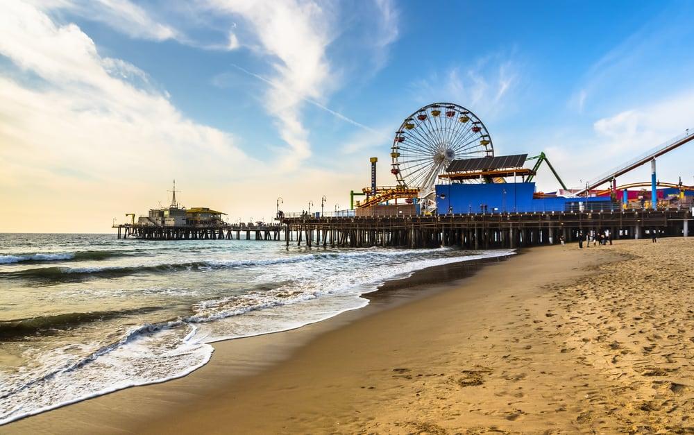 Santa Monica Pier and Fairground
