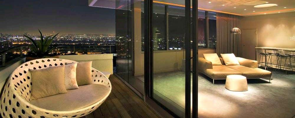Sexy hotel in Los Angeles