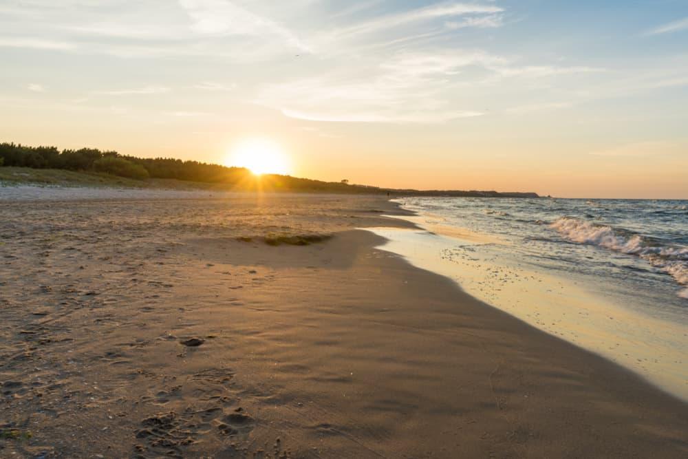 Swinoujscie Beach Poland