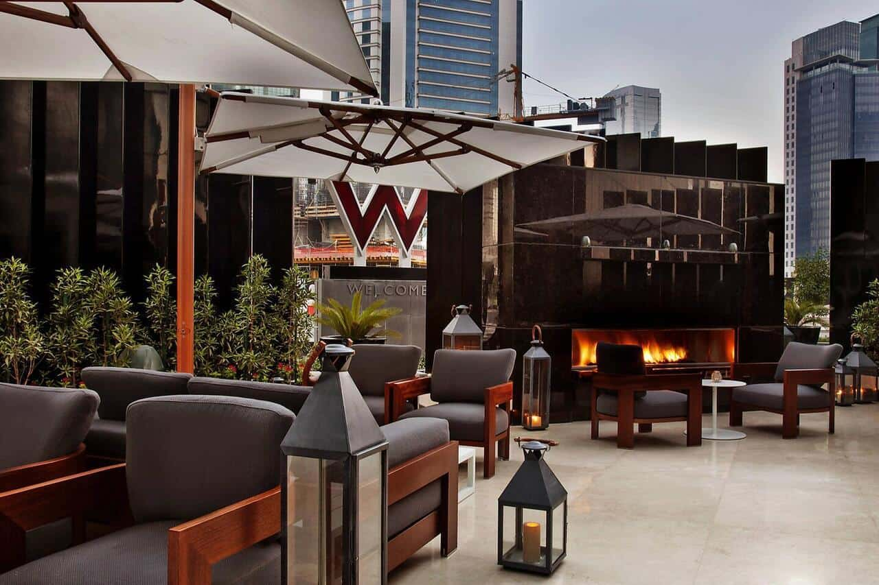 W hotel in Doha