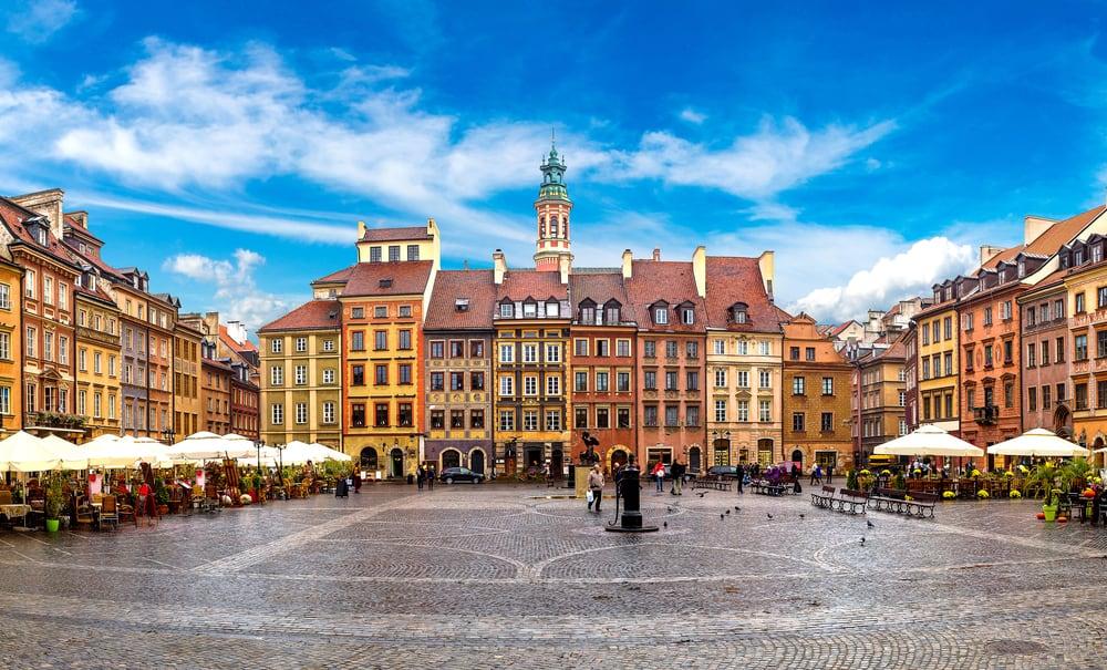 Warsaw City Poland