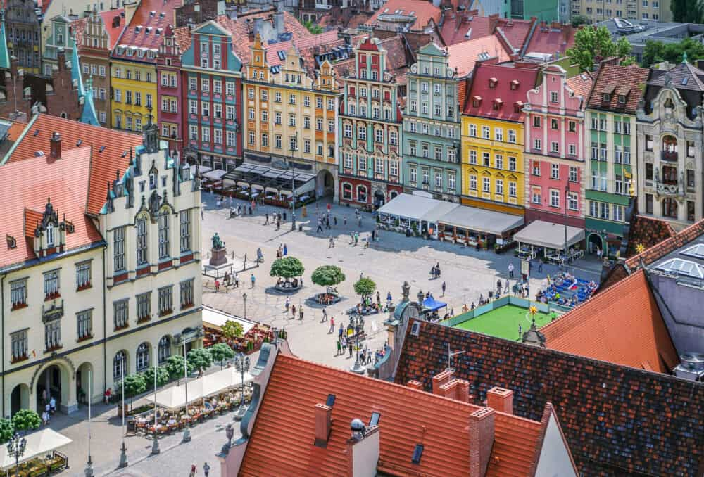 Wroclaw - best cities in Poland