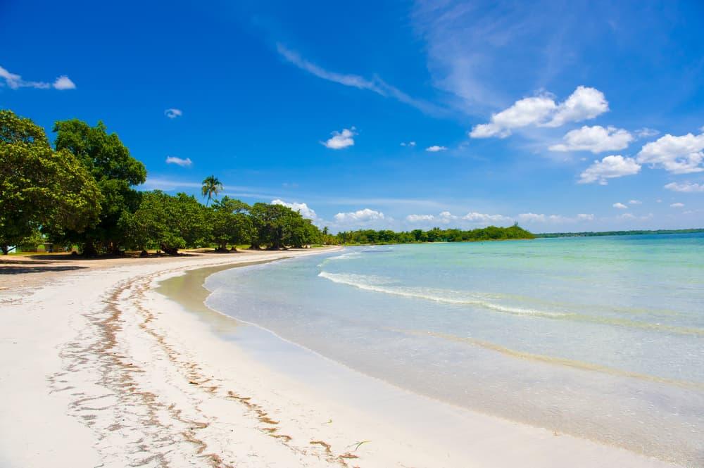Bay of Pigs beach Cuba