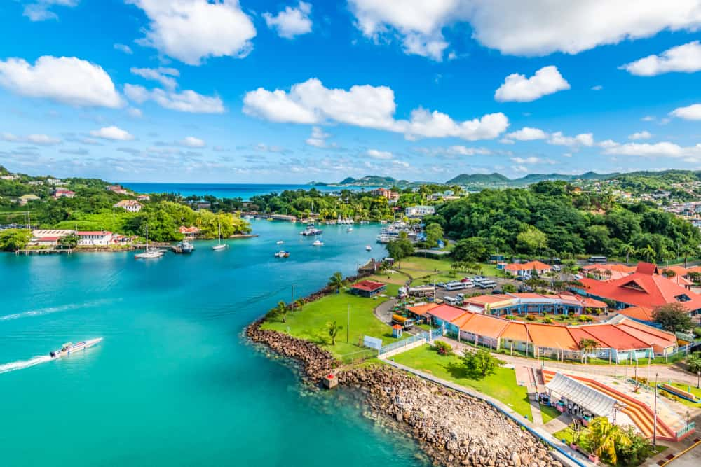 Castries - best places to visit in St Lucia