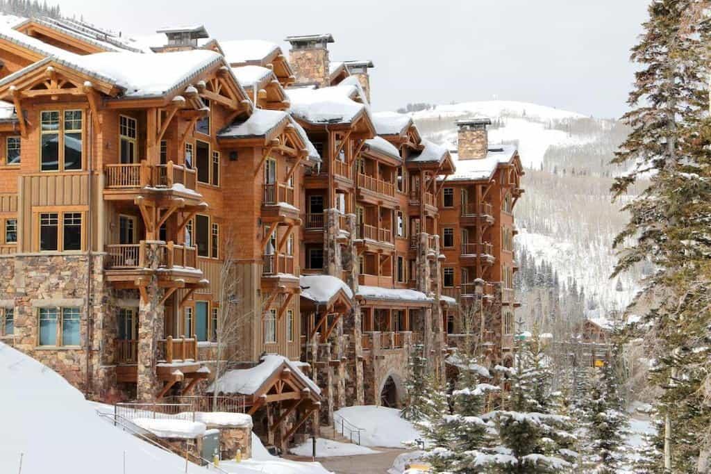 Chic romantic hotel in Utah