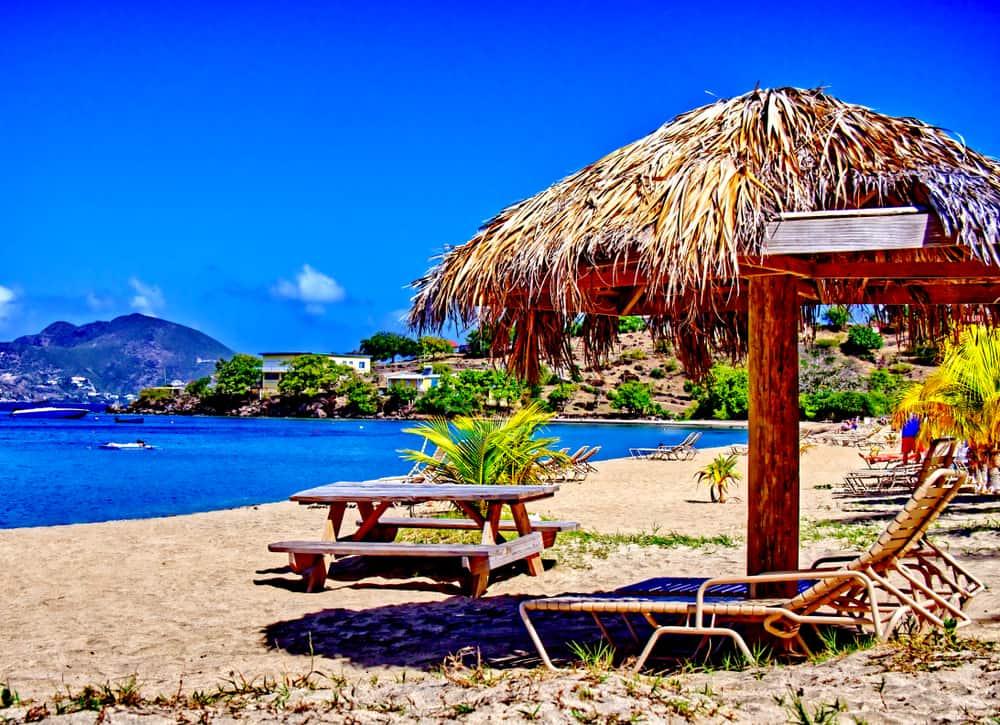Oualie Beach Nevis Caribbean