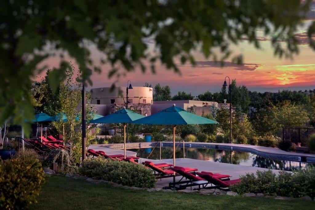 Romantic resort in Santa Fe