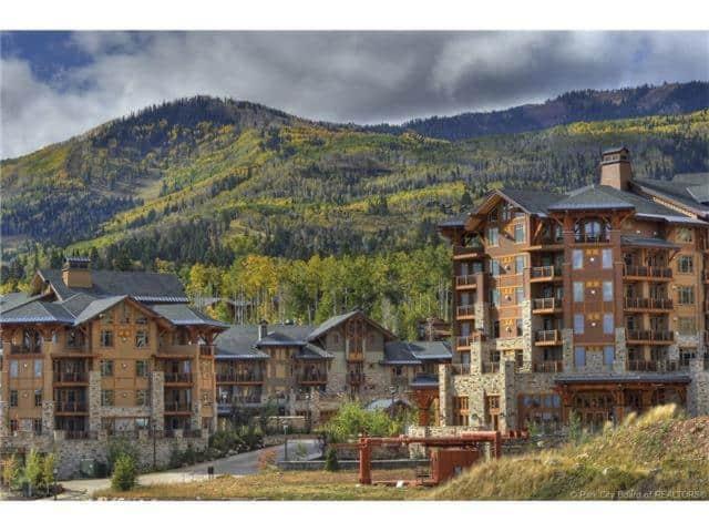 Romantic ski hotel in Utah